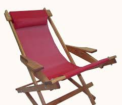 100 Unique Wooden Rocking Chair Folding With All Weather Sling Red