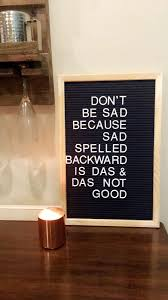 How To Make A Felt Marquee Letter Board DIY