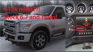 100 High Mileage Trucks EstMile 67 Powerstroke EVER 612000 Miles On Original