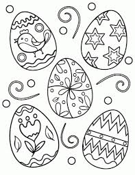Free Easter Egg Coloring Page Within Printable Pages