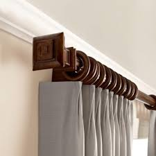 Kirsch Decorative Traverse Curtain Rods by Mk Window Treatments In Greenwich Blinds Shades Curtains