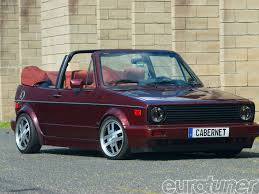 1991 VW Cabriolet Etienne Aigner Edition Flirting with Trash