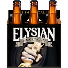 Elysian Pumpkin Ale Alcohol Content by Elysian The Immortal Ipa 6 Pack 12 Fl Oz Walmart Com