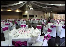 Hot Pnk And White Wedding Theme Decorations For Hire