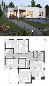 104 Contemporary Modern Floor Plans Bungalow European Style Architecture Design House Plan El Home Interior Design House House Architecture Design Bungalow Design