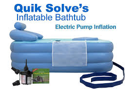 Portable Bathtub For Adults Australia by Inflatable Bathtub With Electric Pump Setup Instructions