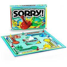 Hasbro SorryR Board Game