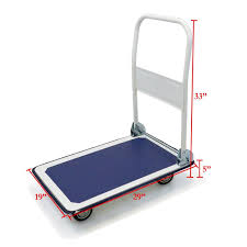 New Platform Cart Folding Dolly Moving Push Hand Truck Warehouse ...
