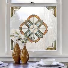 Artscape Decorative Window Film by Artscape 12 In Medallion Decorative Window Film Accent 01 0144