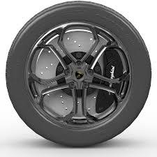 Lamborghini Wheel ZR19 By Koroviev 3DOcean