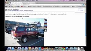 Craigslist Denver Used Cars Online - Toyota Trucks And SUVs ...