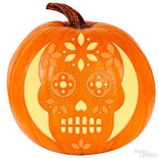 Walking Dead Pumpkin Stencils Free Printable by Sugar Skull Pumpkin Stencil Skull Mold Sugar Skulls And Etchings