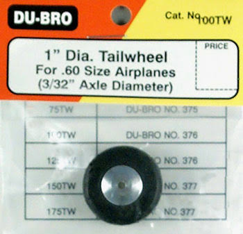 "Dubro Tail Wheel - 1""Dia"