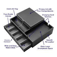 Dresser Valet Watch Box by The