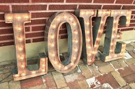 36 larger letter lights 4 marquee signs light up