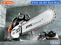 STIHL GS461 Rock Boss Concrete Chainsaw Ad