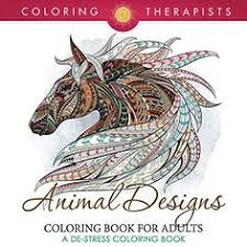 Animal Designs Coloring Book For Adults A DeStress IMPORTANT EBOOK Edition Of This