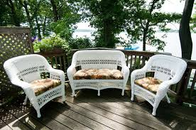 Lloyd Flanders Patio Furniture Covers by Outdoor Wicker Furniture For Small Spaces The Patio