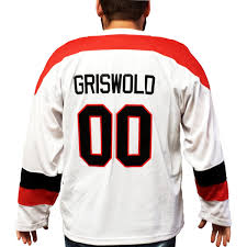Clark Griswold Hockey Jersey Christmas Vacation 00 Xmas Movie