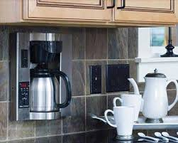 Built In Wall Coffee Maker Brew Express