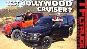 100 G Wagon Truck MercedesBenz 4x4 Squared Vs Chevy Suburban Midnight Vs The