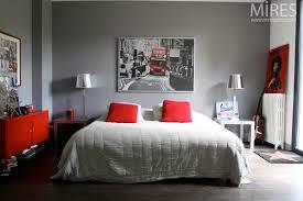 chambre grise et blanc awesome chambre blanc gris et contemporary antoniogarcia