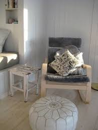 pasadena cottage ikea poang chair in isunda grey with faux
