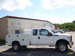2015 Ford F350 Super Duty XL Super Cab 4x4 Utility In Oxford White ...