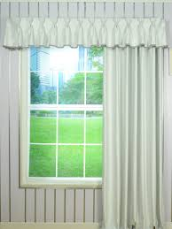 Solid Double Pinch Pleat Valance and Curtains with Gimp Fabric Trim