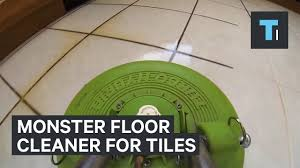 Shark Tile Floor Scrubber by Monster Floor For Tiles Youtube