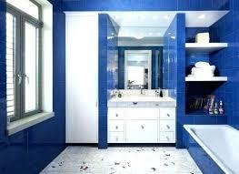 blaue und weiße badezimmer ideen dekoration ideen weiße