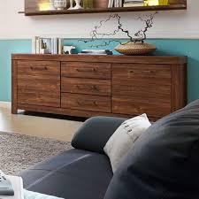 wohnzimmer sideboard in akazie dunkel 200 cm breit