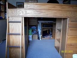 Desk Bunk Bed Combo by Student Desk Loft Bunkbed Dresser And Bookshelf Combo For Sale
