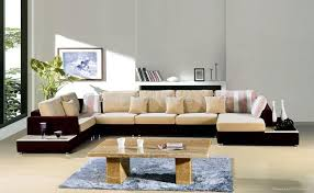 Furniture Sofa Designs For Living Room With Price Cushions Wooden Table Carpet Frame Curtain