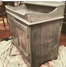 Ethan Allen Painted Dry Sink by Vintage Dry Sink Painted In Home Made Turquoise Chalk Paint Used