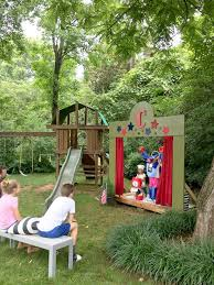 Our (DIY) Kids' Backyard Theater - Emily A. Clark Best 25 Treehouse Kids Ideas On Pinterest Kids Treehouse Designs And Youtube Play Houses Forts For Hip Cubby House Outdoor Backyard Wooden Houses 371 Best Extreme Playhouses Images Playhouse Registration Simple Amazoncom Kidkraft Toys Games Outside Play In This Fun Fort With Bridge Rockwall Decoration Ideas Adorable Brown Castle Style This Kidfriendly Backyard Renovation Took Only 3 Weeks To Fabulous Tree Design Which Is Completed With Unique Yard Games