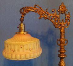 Ebay Antique Floor Lamps by Antique Cast Iron Floor Lamp Bridge Lamp Ornate Arm Ebay