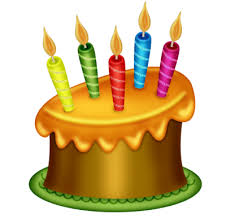Candle Birthday Cake Clipart birthday cake PNG