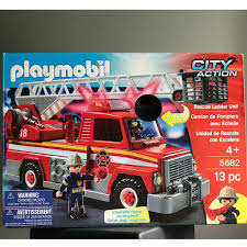 BNIB Playmobil 5682 City Action Fire Engine, Toys & Games, Bricks ... Playmobil Take Along Fire Station Toysrus Child Toy 5337 City Action Airport Engine With Lights Trucks For Children Kids With Tomica Voov Ladder Unit And Sound 5362 Playmobil Canada Rescue Playset Walmart Amazoncom Toys Games Ambulance Fire Truck Editorial Stock Photo Image Of Department Truck Best 2018 Pmb5363 Ebay Peters Kensington