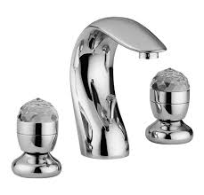 luxus bad zubehör jugendstil retro waschtisch armatur dreilochbatterie serie cristallo made in italy barockgroßhandel de
