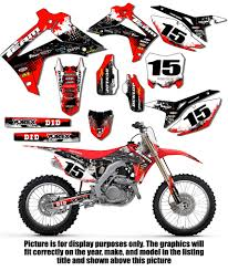 1997 1999 honda cr 250 r graphics kit decals stickers mx deco