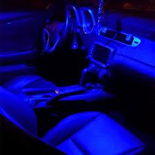 100 Interior Truck Lighting Car Lamps Ultra Blue 9SMD 172 42mm 578