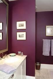 bad wand in purpur lila badezimmer badezimmerfarben
