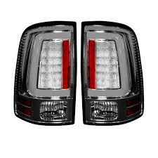 Clear Lens | After Market OLED Tail Lights | Dodge Ram 09-14 | RECON ...