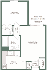 2 Bedroom Apartments For Rent In Milwaukee Wi by Grant Park Square
