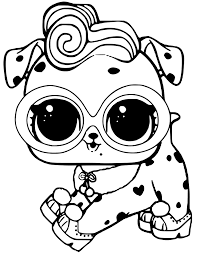 Dollmation LOL Pets Coloring Page