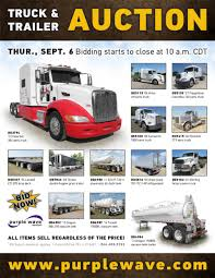 SOLD! September 6 Truck And Trailer Auction | PurpleWave, Inc.