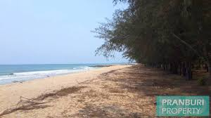 100 Absolute Beach Front 5 Rai Absolute Beach Front Land With River In Tab