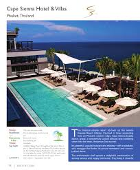 100 Cape Sienna Thailand Lihns Best Of Class 201314 By Luxury Publications Issuu