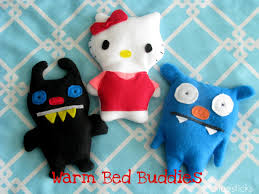 Bed Buddy Microwave Heat Pack by Warm Bed Buddies Dolls Filled With Rice That Can Be Warmed Up In
